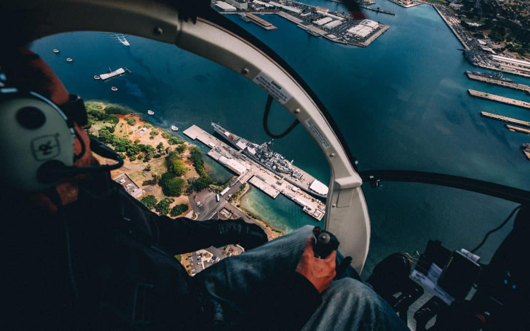 Flying in Hawaii a 360 Look